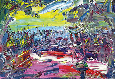 Jungle Farmers Art Print by Bob Usoroh
