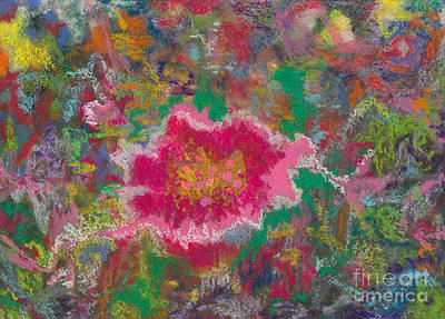 Mixed Media - Jungle Flower by Mary Zimmerman
