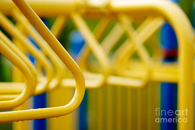 Jungle Gym At Playground Shallow Dof Print by Amy Cicconi