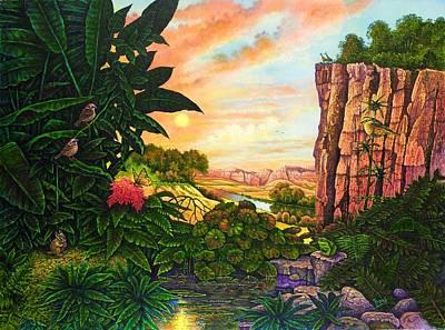 Jungle Harmony I Art Print