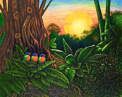 Jungle Harmony IIi Art Print