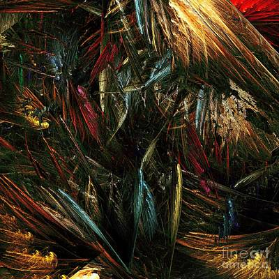 Abstract Digital Art Digital Art - Jungle by Klara Acel