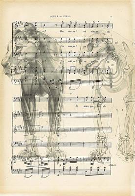 Old Sheet Music Digital Art - Jungle Music by Georgia Fowler
