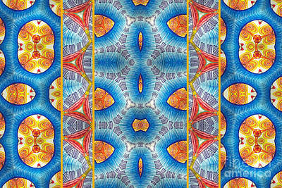 Kaleidoscope Mixed Media - Jungle Soul by Laurie Kammer