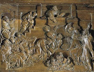 Juni, Juan De 1507-1577. Disputes Art Print