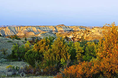Fantasy Royalty-Free and Rights-Managed Images - Juniper And Canyons, Little Missouri by T. C. Knight