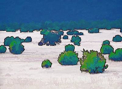 Digital Art - Juniper Field by Tim Richards