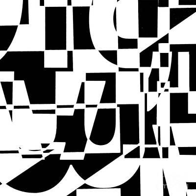 Abstract Digital Digital Art - Junk Mail by Elena Nosyreva