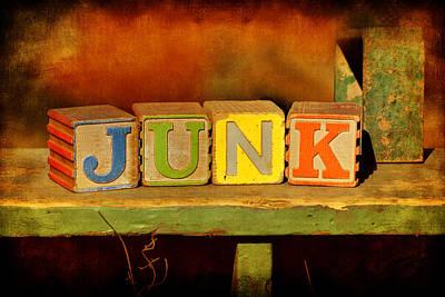 Photograph - Junk by Nikolyn McDonald