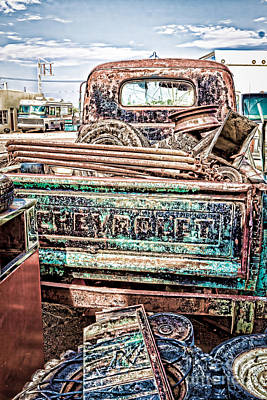 Photograph - Junk Or Treasure by Lawrence Burry