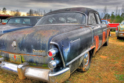 Photograph - Junked Dodge Coronet by Willie Harper