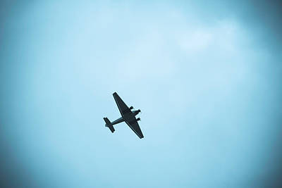 Junkers Ju 52 Aircraft Flying Art Print by Panoramic Images