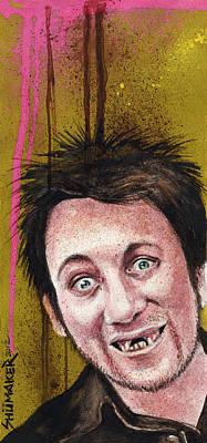 Junkie Portrait Series Shane Art Print
