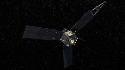 Juno Spacecraft Art Print