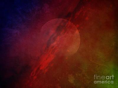 Science Fiction Photos - Jupiter Ascending by Edward Fielding