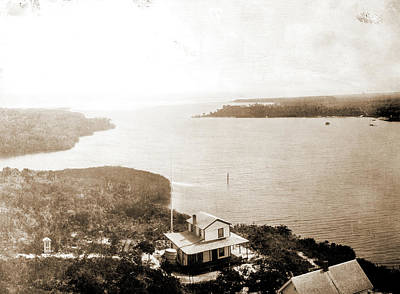 Lighthouse Drawing - Jupiter Inlet From The Lighthouse, Fla, Jackson, William by Litz Collection