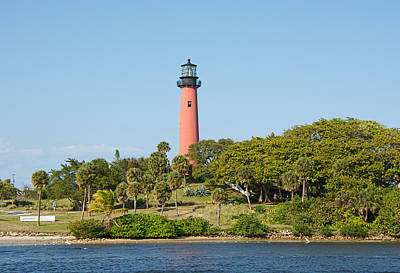 Photograph - Jupiter Inlet Lighthouse - Jupiter Florida by John Black