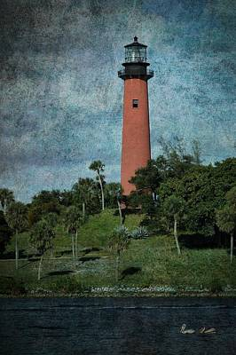 Photograph - Jupiter Lighthouse-1a by Rudy Umans