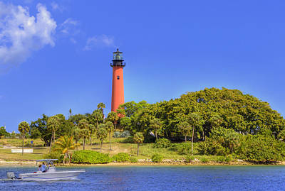 Photograph - Jupiter Lighthouse by Sean Allen
