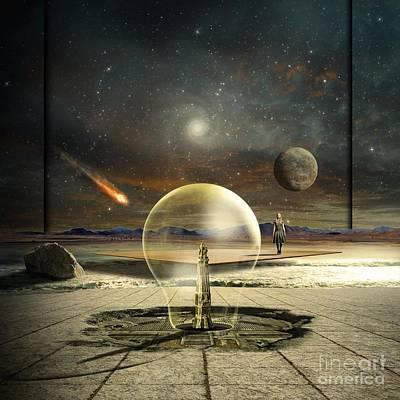 Time Clock Digital Art - Jupiter Session by Franziskus Pfleghart