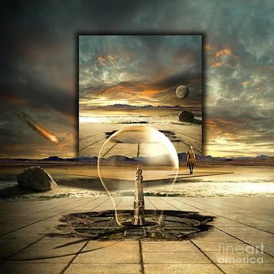 Time Clock Digital Art - Jupiter Session II by Franziskus Pfleghart