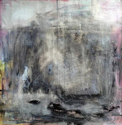 Baselitz Painting - Jurassic by Antonio Ortiz