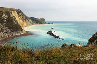 Seascape Photograph - Jurassic Coast Dorset by Louise Heusinkveld