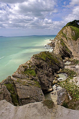 Photograph - Jurassic Coast From Lulworth Cove by Tony Murtagh