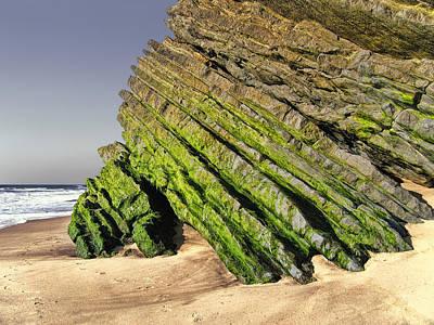 Photograph - Jurassic Coast Quiaios Beach by Menega Sabidussi