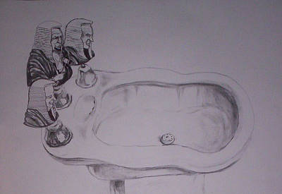 Drawings Royalty Free Images - Jurisbidencia Royalty-Free Image by Lazaro Hurtado