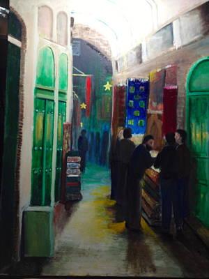 Painting - Jursalem Bazar by Giti Ala
