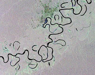 Jurua River Art Print by European Space Agency