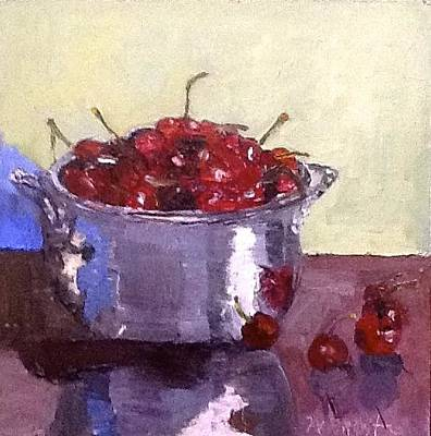 Painting - Just A Bowl Of Cherries by MaryAnne Ardito