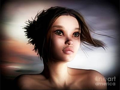 Digital Art - Just A Fantasy by Sandra Bauser Digital Art