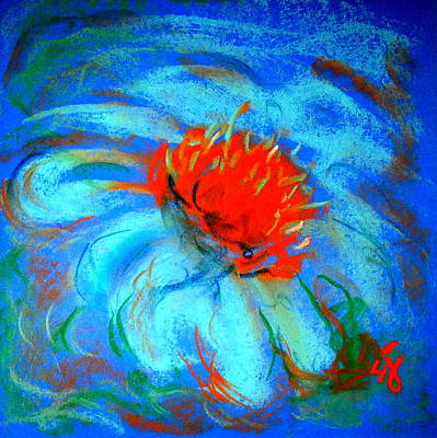 Loose Style Painting - Just A Flower by Sue Jacobi