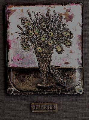 Mixed Media - Just A Hop by Brenda Berdnik