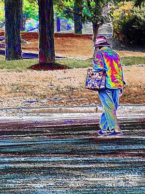 Restaurant Inspired Art Photograph - Just A Walk In The Park by Robyn King