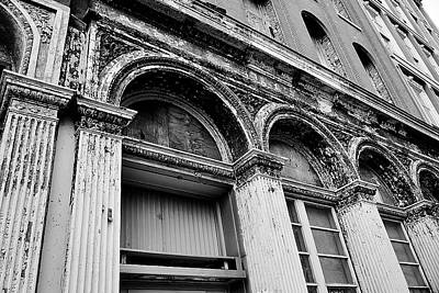 Photograph - Just An Old Facade by Beth Akerman
