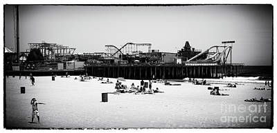 Seaside Heights Photograph - Just Another Day by John Rizzuto
