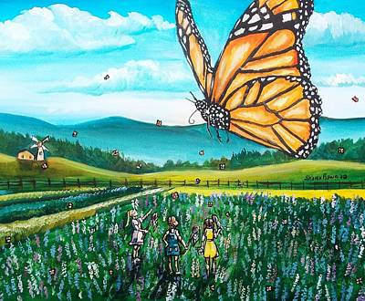 Painting - Just Another Monarch Monday by Shana Rowe Jackson