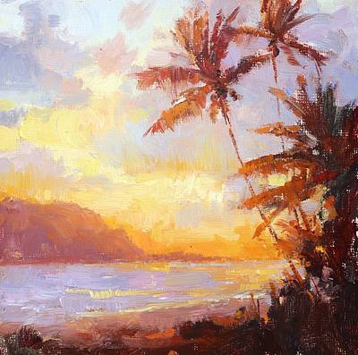 Painting - Just Another Sunset In Paradise by Jenifer Prince