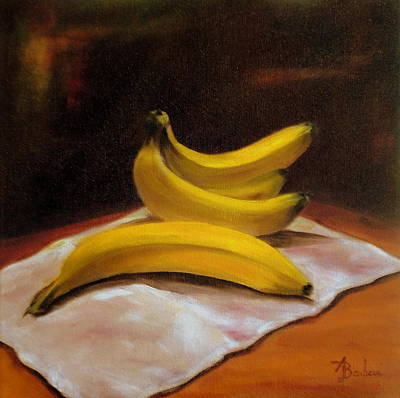 Painting - Just Bananas by Anne Barberi