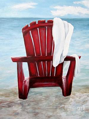 Painting - Just Beachin' by Meagan  Visser