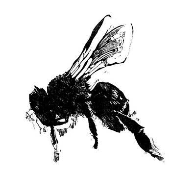 Painter Mixed Media - Just Bee  by John Warren OAKES
