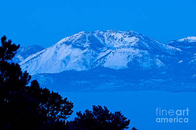 Just Before Dawn- Mnt Rose Art Print by Steve Rowland