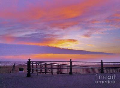 Photograph - Just Before Sunrise by Robin Coaker