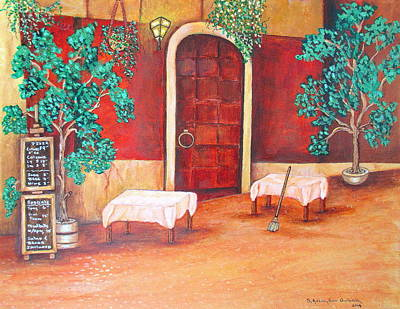 Painting - Just Before The Dinner Hour by Ashley Goforth