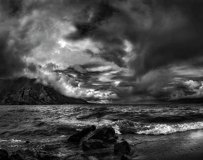 Just Before The Storm ... Art Print