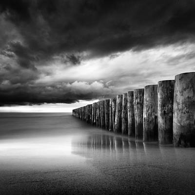 Just Before The Storm Art Print by Martin Flis