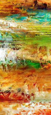 Abstract Art Painting - Just Being Vertical - Abstract Art by Jaison Cianelli